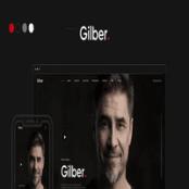 قالب HTML رزومه Gilber
