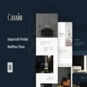 قالب وردپرس نمونه کارها Cassio