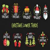 Christmas Lower Thirds برای افترافکت