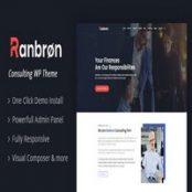 قالب وردپرسی تجاری و مشاوره ای Ranbron