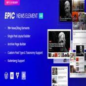 افزونه وردپرسی  Epic News Elements برای المنتور