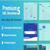 اسکریپت کوتاه کننده لینک Premium URL Shortener