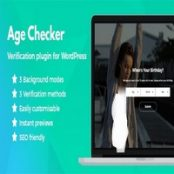 افزونه Age Checker برای وردپرس