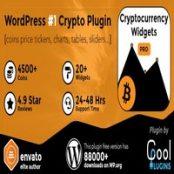 افزونه Cryptocurrency Widgets Pro برای وردپرس