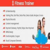 افزونه Fitness Trainer برای وردپرس