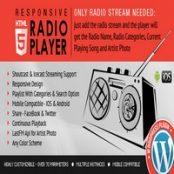 افزونه Radio Player Shoutcast & Icecast برای وردپرس
