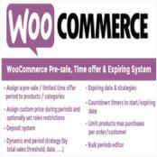 افزونه  WooCommerce Pre-sale, Time offer & Expiring System  برای وردپرس
