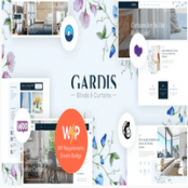 قالب فروشگاه پرده Gardis وردپرس