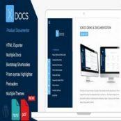قالب فروش محصولات وردپرس X Docs