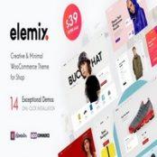 قالب ووکامرسی Elemix
