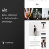 قالب Ailsa  – قالب وردپرس وبلاگ شخصی