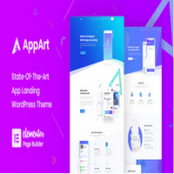 قالب AppArt برای وردپرس