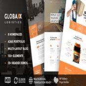 قالب Globax برای وردپرس
