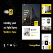قالب Hub2B برای وردپرس