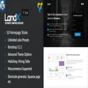 قالب LandX برای وردپرس