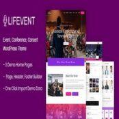 قالب Lifevent برای وردپرس