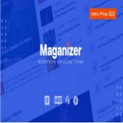 قالب Maganizer برای وردپرس