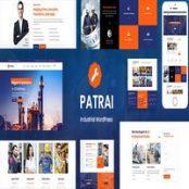 قالب Patrai Industry برای وردپرس