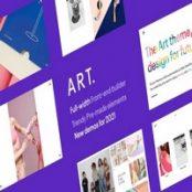 قالب Portfolio ART برای وردپرس