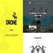 قالب drone برای وردپرس