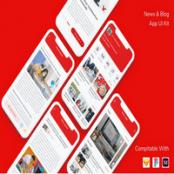 کیت UI اپلیکیشن خبری و وبلاگی News & Blog