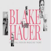 قالب Blake von Hauer برای وردپرس