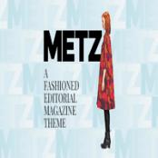 قالب Metz برای وردپرس