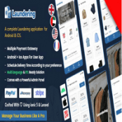 اپلیکیشن Ionic 5 خشک شویی Laundering