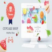 قالب شیرینی فروشی وردپرس Noucake