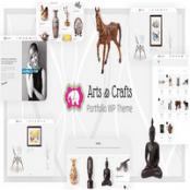 قالب Crafts & Arts راست چین برای وردپرس