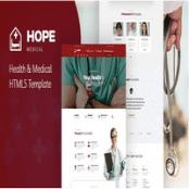 قالب HTML5 سلامت و پزشکی Hope