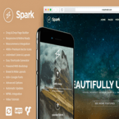 قالب Spark برای وردپرس