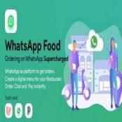 اسکریپت WhatsApp Food