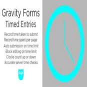 افزونه Gravity Forms Timed Entries