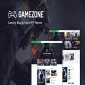 قالب وردپرس Gamezone