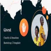 قالب HTML امور خیریه Givest