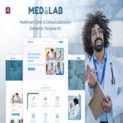 کیت تمپلیت Medilab برای المنتور
