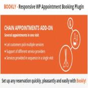 ادآن Bookly Chain Appointments