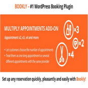 ادآن Bookly Multiply Appointments