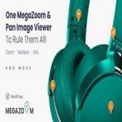 افزونه Mega Zoom & Pan Image Viewer برای وردپرس