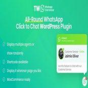 افزونه WhatsApp Chat for WordPress and WooCommerce