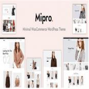 قالب وردپرس مینیمال Mipro