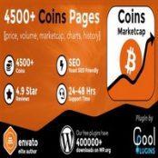 افزونه Coins MarketCap برای وردپرس