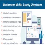 افزونه WooCommerce Min Max Quantity & Step Control