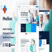 قالب بهداشت و پزشکی Medikon برای وردپرس