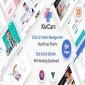 قالب KiviCare  برای وردپرس