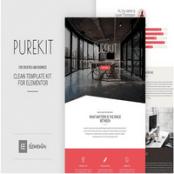 کیت تمپلیت شرکتی المنتور Purekit