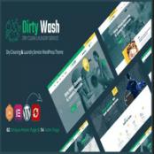 قالب خشک شویی DirtyWash برای وردپرس