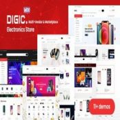 قالب فروشگاهی Digic برای وردپرس