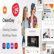 قالب خدمات نظافت CleenDay برای وردپرس